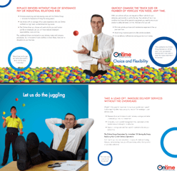 The Ontime Group brochure