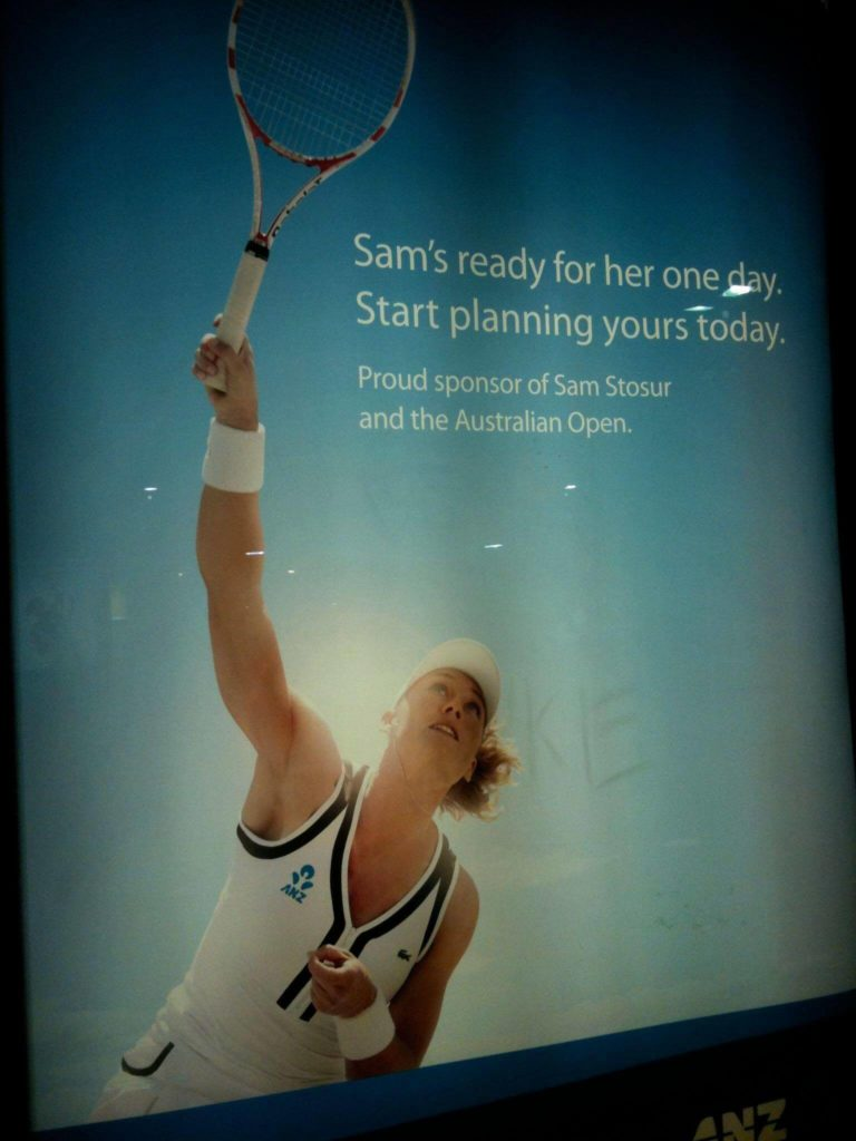 Stosur-768x1024 Bounce or Hit? Copywriter's Missing 'Colloquial Markers' = Ambiguous Ad