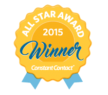 All Star Award with Constant Contact