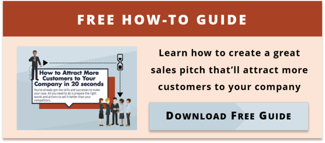 Download Your 20-second Sales Pitch Infographic Now