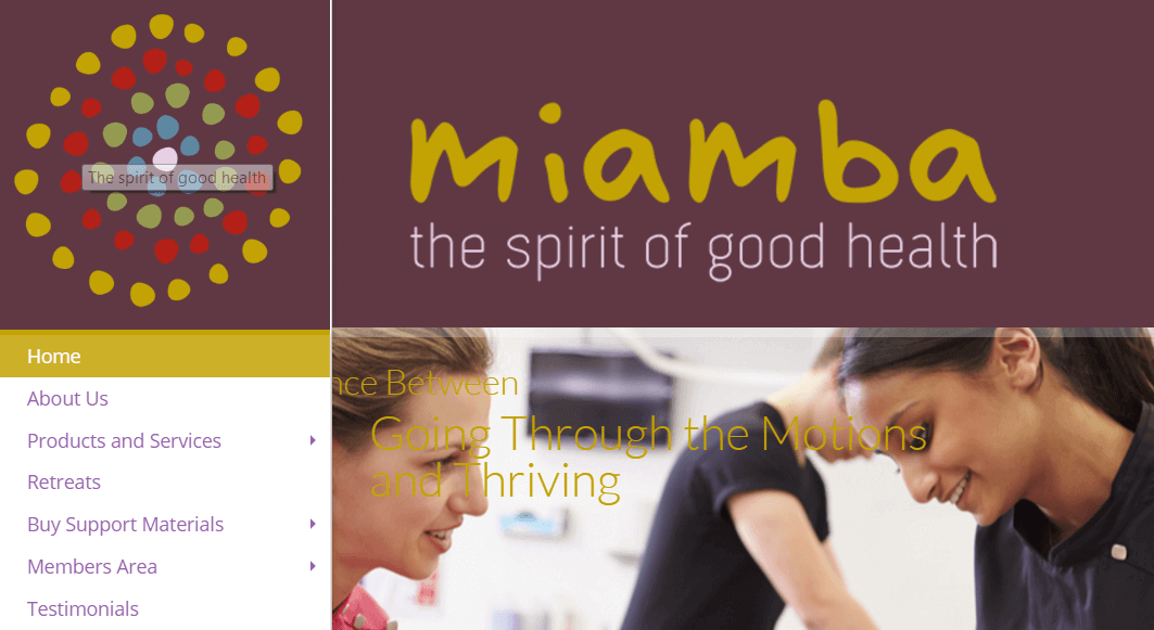 Miamba new website