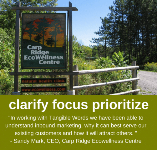 Carp Ridge EcoWellness Website Case Story