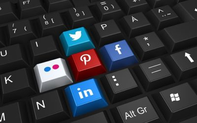 use social media to promote your services