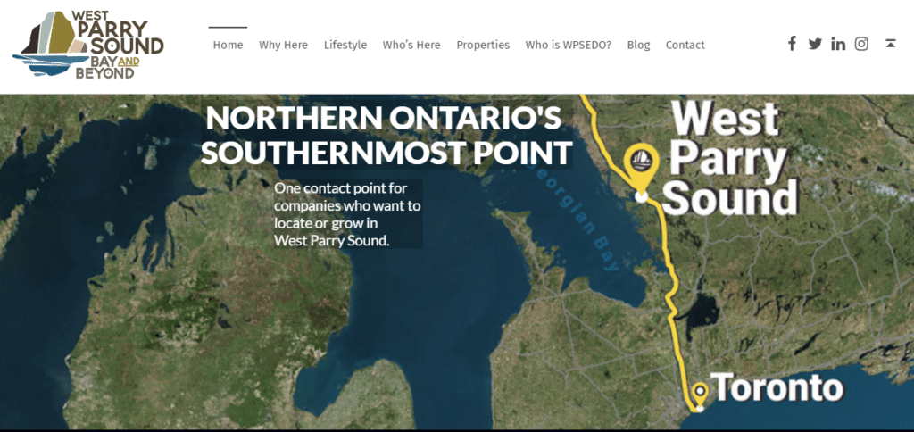 West Parry Sound homepage