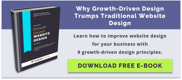 Growth-Driven Design Website Infographic