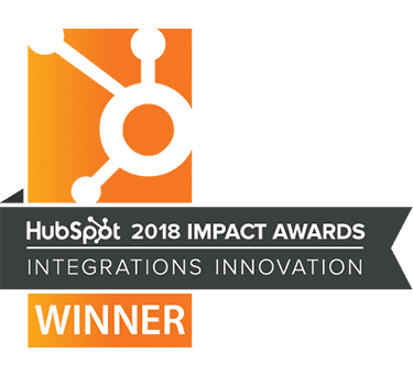 Hubspot Award Winner 2018
